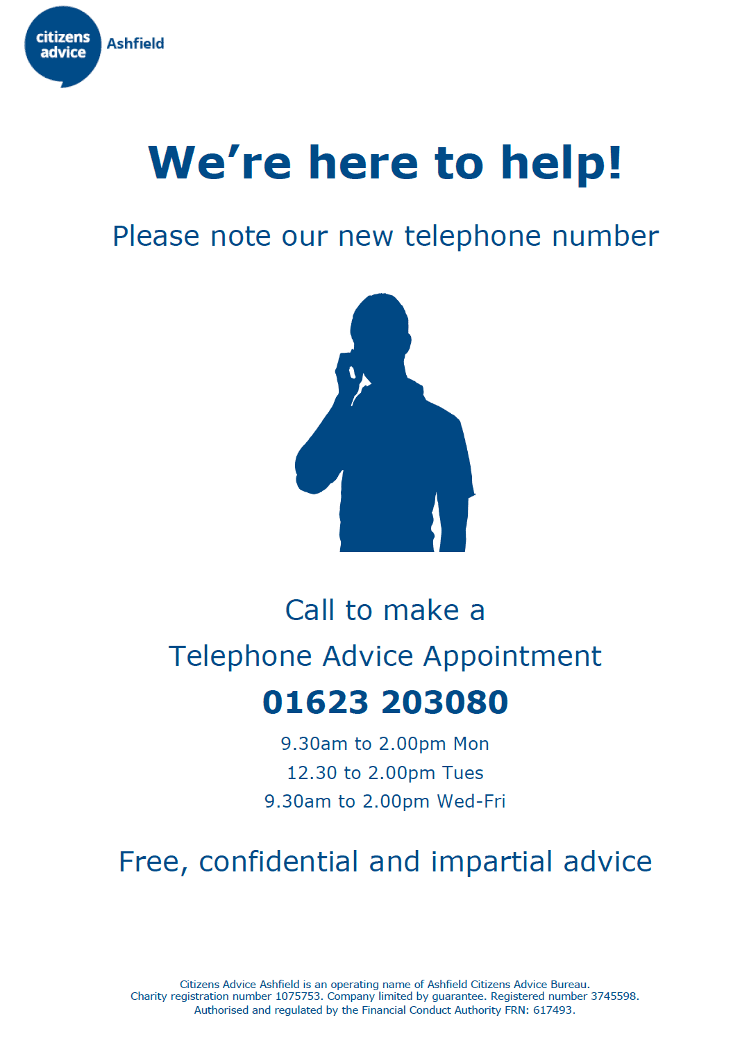Citizen's Advice Number