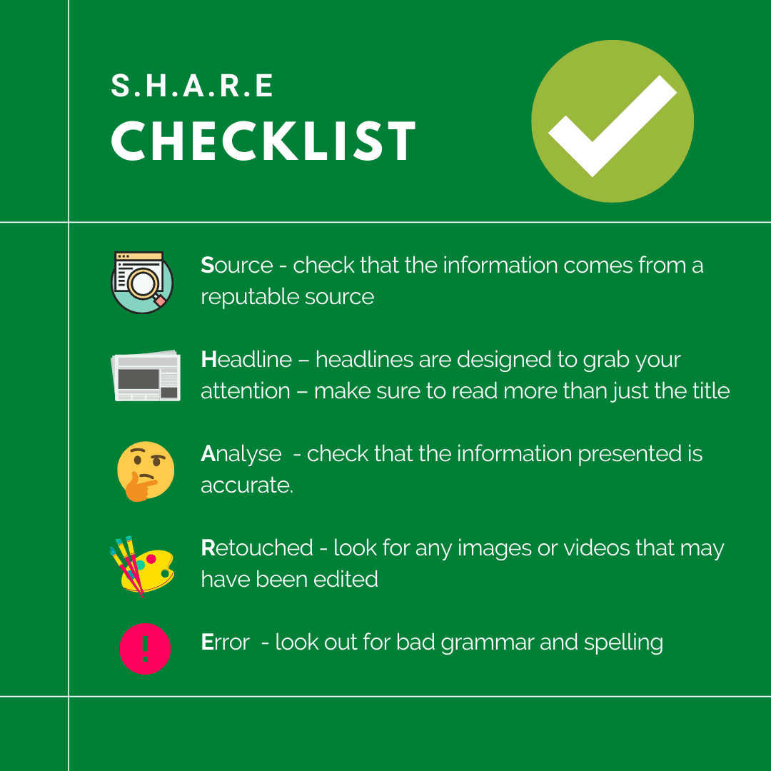 Share Checklist
