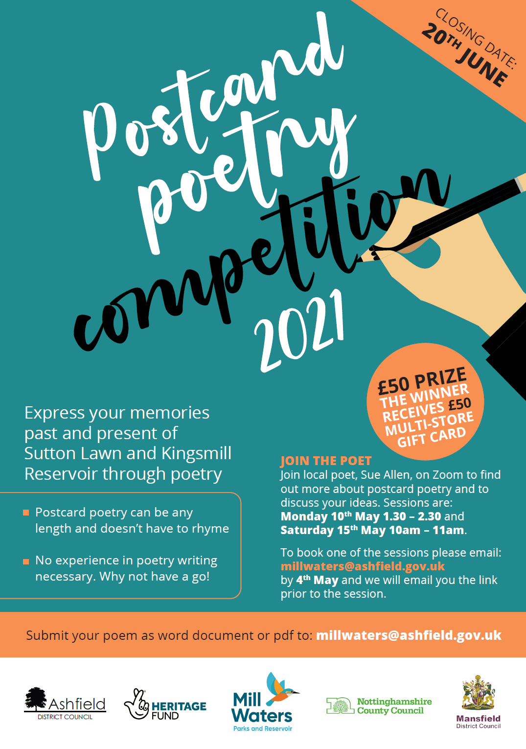 Postcard Poetry Competition